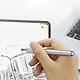 Bút Cảm Ứng Điện Dung 2 Trong 1 Baseus Smartphone Tablet IPad - Màu Ngẫu Nhiên - Hàng chính hãng