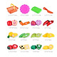 Gobestart 16PC Kids Pretend Role Play Kitchen Fruit Vegetable Food Toy Cutting Gift Toy