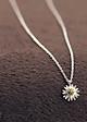 Dây chuyền bạc nữ mặt hoa cúc sang trọng MV34