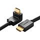 Cáp HDMI Bẻ góc 90 Độ (Lên) Ugreen 10168 8m - Hàng Chính Hãng