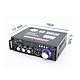 Ampli mini bluetooth 12v 220v AV-153TV, USB,SD,FM