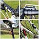 Đèn 5 LED Cảnh báo sau Xe Đạp giúp đạp xe an toàn ban đêm 4 chế độ sáng (Đèn Đỏ) Mai Lee - Hàng chính Hãng