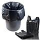 Set 1kg túi đựng rác đen có quai