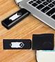 Bật lửa USB chữ S, hộp quẹt sạc điện qua cổng USB (Giao tùy màu )