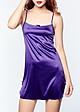 Đầm Ngủ Satin Miley Lingerie (Tím)