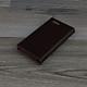 Bao Da dành cho blackberry Key2 Da Bò màu nâu đất