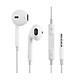 Tai nghe nhét tai dành cho Iphone 5/6/7 và Samsung Jack cắm 3.5mm - Trắng - Hàng chính hãng