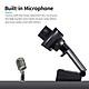 101JD 1080P 2MP High-Definition Webcam 30fps Web Camera Noise-reduction Microphone HD Laptop Computer Camera USB Plug &