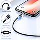 Cáp sạc nam châm cho điện thoại iphone đầu cắm lightning IP66