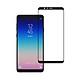 Miếng Dán Kính Cường Lực cho Samsung Galaxy A8 Star - Full màn hình - Màu Đen - Hàng Chính Hãng
