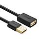 Dây nối dài USB 2.0 (1 đầu đực, 1 đầu cái) dài 2m UGREEN US103 10316 - Hàng Chính Hãng