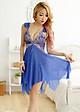 Đầm ngủ sexy nữ KOD MS1095 Xanh