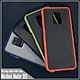 Ốp lưng cho Xiaomi Redmi Note 9S - Redmi Note 9 Pro trong nhám viền màu