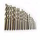 Bộ 19 mũi khoan cao cấp dùng cho khoan sắt khoan gỗ
