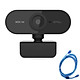 1080P 2MP HD Webcam 30fps Camera Noise-reduction Microphone Web Cam HD Laptop Computer Camera USB Plug & Play with