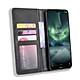 Bao da dạng ví, nam châm dành cho Nokia 7.2 Luxury Leather Case - Hàng nhập khẩu