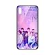 Ốp lưng CƯỜNG LỰC VIỀN ĐEN cho iPhone X KPOP_BTS_BTS AND ARMY - Hàng chính hãng