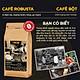 [1KG] Bộ 2 Cà Phê Bột ROBUSTA – Vị đậm, đắng, thanh –Cà phê pha phin thật 100% nguyên chất không pha trộn – TORO COFFEE – TORO FARM