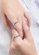 Nhẫn đôi mở Gloss Love J3242
