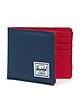Ví Nam Herschel Roy RFID Wallet 10363-00018-OS Navy/Red (3.5 x 4.4 x 0.5 cm)
