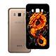 Ốp Lưng Viền TPU Dành Cho Samsung Galaxy J7 2016 - Fire Dragon