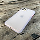 Ốp lưng chống sốc dành cho iPhone 11 Pro Max nút bấm màu đỏ - Màu trắng