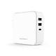 Sạc RAVPower RP-PC082, PD65W, USB-C, QC3.0, EU/US Plug - Hàng Chính Hãng