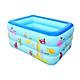Bể bơi 3 tầng hình chữ nhật 1,5m cho bé