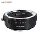 K&F CONCEPT EF-E AF II  Lens Mount Adapter Ring 0.5s High Speed Auto Focus Anti-shake with Tripod Mount for EF-Mount