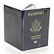 Combo 5 bao  passport trong suốt đựng hộ chiếu loại dày 3 ngăn