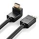 Cáp HDMI bẻ góc vuông 90 độ (BẺ LÊN) dài 8m UGREEN HD103 10168 - Hàng chính hãng