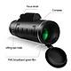 40X60 Monocular Telescope Portable Mini Optic Lens Coating Outdoor Mobile Phone Photograph 40X Scope for Traveling