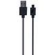 Cáp Micro USB Energizer CL C12UBMCBBK4 (20cm) - Hàng Chính Hãng