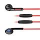 Hộp 3 tai nghe BYZ có mic cho âm thanh sống động ( Đỏ)- Hàng chính hãng