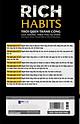 Rich Habits - Thói quen thành công của những triệu phú tự thân
