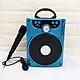 Loa bluetooth Karaoke Ruizu P88 hỗ trợ thẻ nhớ/USB/AUX/FM/jack 6.5mm - Tặng kèm micro karaoke (nhiều màu) Hàng Chính Hãng