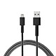 Dâp Cáp Sạc Lightning MFi cho iPhone RAVPower RP-CB012 1.2m Lõi Kevlar Siêu Bền - Hàng Chính Hãng
