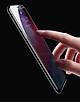 Kính cường lực iPhone hiệu Baseus viền siêu mỏng - Hàng Chính Hãng