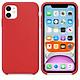 Ốp Silicon cho iPhone 11- Màu đỏ