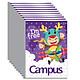 Tập Học Sinh Campus Cosplay 2 (Lốc 10 cuốn) - Mẫu Ngẫu Nhiên