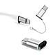 Đầu chuyển từ MicroUsb sang Type C Remax RA-USB1 - Hàng nhập khẩu