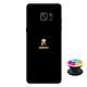 Ốp lưng nhựa dẻo dành cho Samsung Galaxy Note FE in hình Aquarius - Tặng Popsocket in logo iCase - Hàng Chính Hãng
