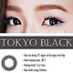 [Một cặp] Kính Áp Tròng Dùng 1 Ngày Eye Secret KM1N - Tokyo Black
