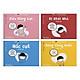 Combo 4 cuốn ehon Nhật Bản TAKU Cậu Bé Mộng Mơ: Siêu Năng Lực + Đi Khỏi Nhà + Nóng Chảy Nước + Nấc Cụt ( Dành cho trẻ từ 2 - 8 tuổi) ( Tặng kèm Bookmark Happy Life)