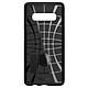 Ốp lưng Galaxy S10 Spigen Tough Armor chống sốc USA_Black_ Hàng chính hãng