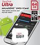 Thẻ Nhớ Micro SDXC SanDisk UHS-1 64GB Class 10 - 80MB/s - Hàng Chính Hãng