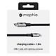 Dây Cáp USB-C to Lightning Chuẩn MFi Cho iPhone Hỗ Trợ Sạc Nhanh Power Delivery Mophie 1.8m - Hàng Chính Hãng