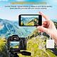 SD Card Reader TF & SD Camera Memory Card Reader Adapter 2 in 1 Dual Slot Card Reader