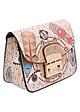 Túi Xách Nữ Họa Tiết Shirley FB415-11 (20 x 10 cm) - Hồng Nhạt