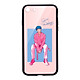 Ốp lưng CƯỜNG LỰC VIỀN ĐEN cho iPhone 8 KPOP_BTS_V - Hàng chính hãng